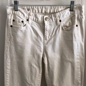 Gap Bootcut White Jeans